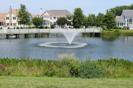 Waterfront-Bethany Beach-Pool/Tennis/Fish/Gym/Golf