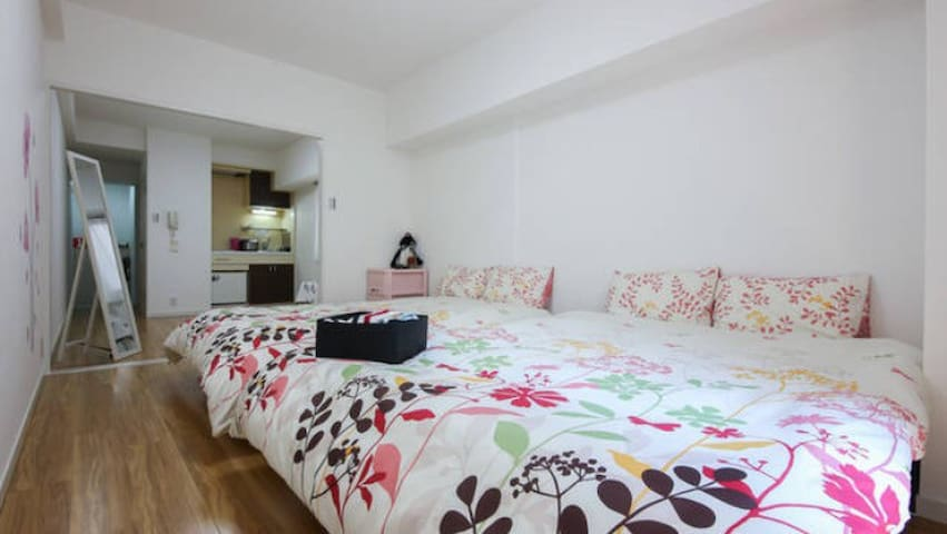 新宿中心地带7mins!Shinjuku Station/Free pocket WI-FI - Shinjuku-ku - Appartement