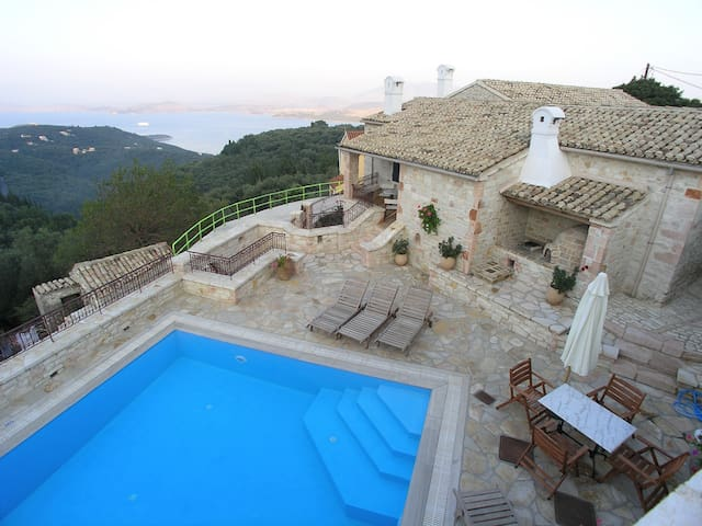 Villa Olympia from above