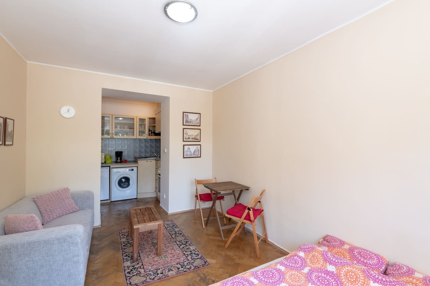 Cozy studio 7 minutes from centre