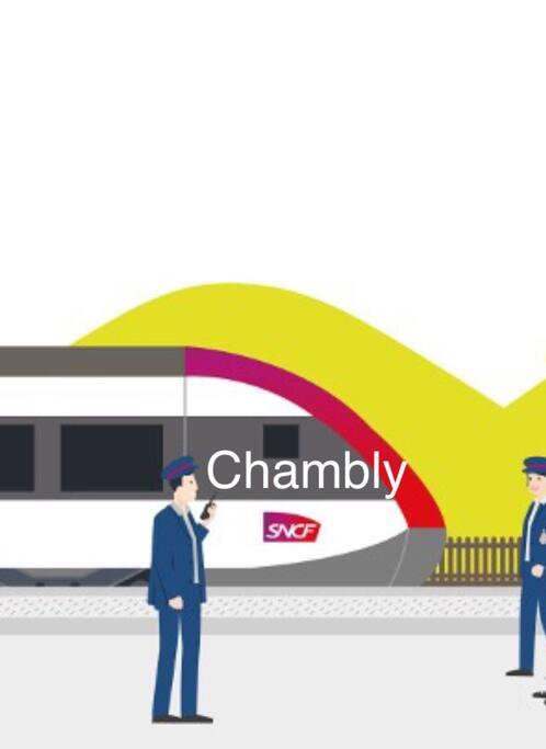 Proche du centre de formation SNCF et la gare de chambly