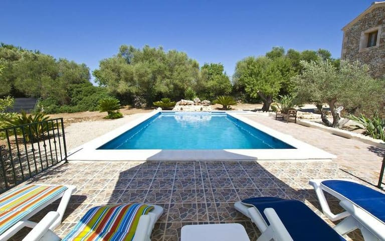Romantic,typical Finca&Pool&Panorama in GeoCentre - Ruberts - Villa