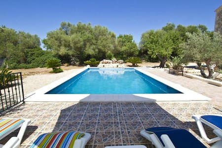 Romantic,typical Finca&Pool&Panorama in GeoCentre - Ruberts