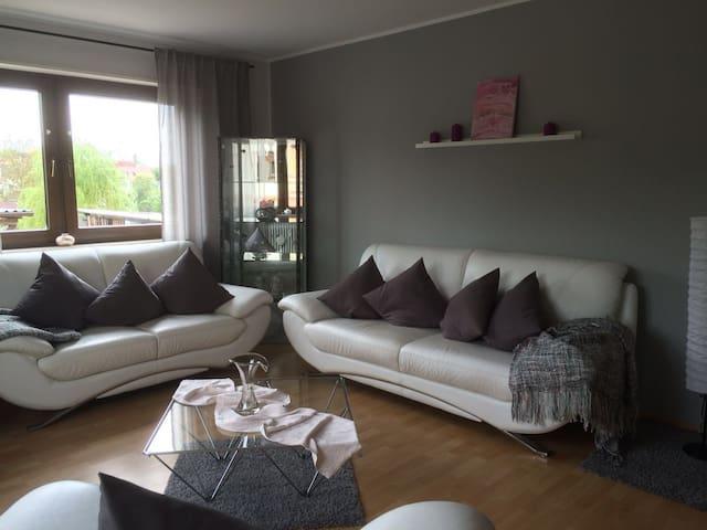 Gemütliche Wohnung Nähe Kaiserslautern - Kaiserslautern - อพาร์ทเมนท์