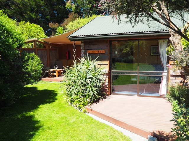 The Garden Chalet - Cottages for Rent in Hapuku, Canterbury, New Zealand
