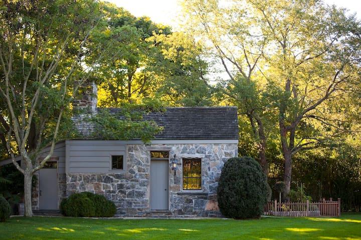 Stone dining barn