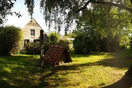Gezellige eco-gite in hoeve tussen Gent & Brugge