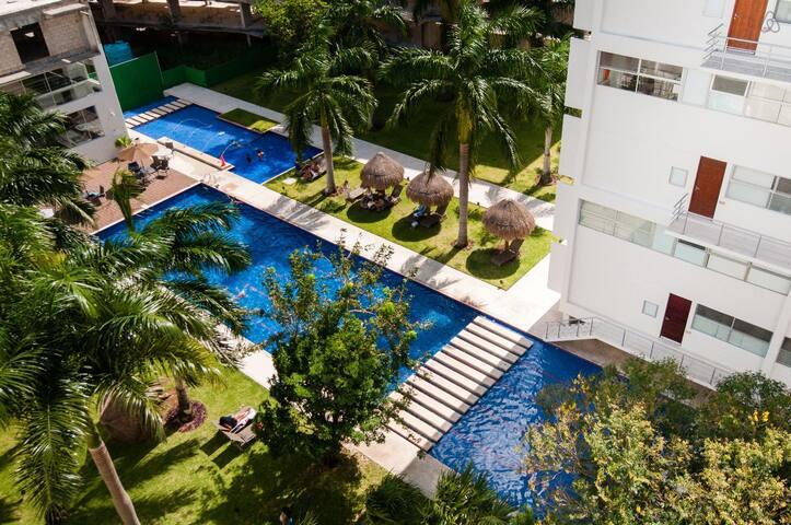New Luxury Downtown Cancun Condo Near the Beach! - Cancún - Apartment