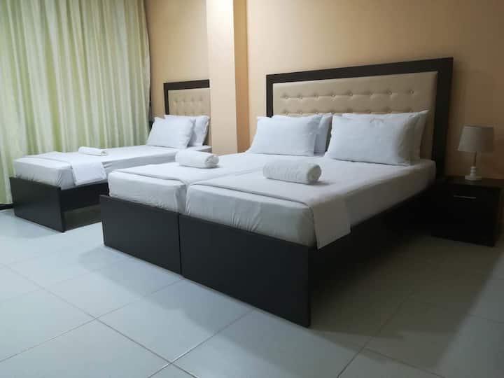 Room for 4 in Hotel Vjosa