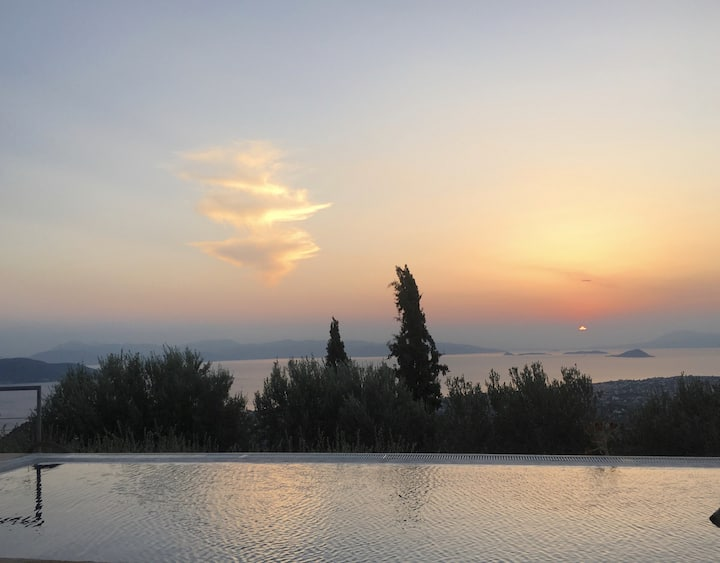 Villa Aegina Moments | Villa in Aegina Island