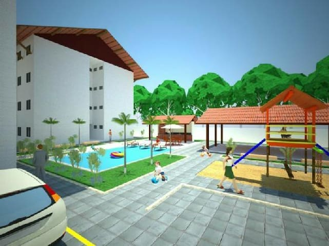 Apartamento com piscina - João Pessoa - Lejlighed