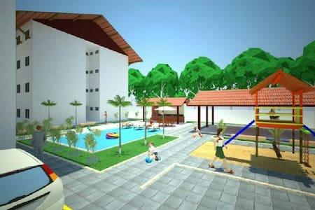 Apartamento com piscina - João Pessoa - Pis