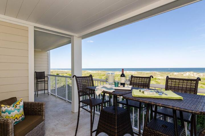 Reese-High-end luxury abounds in this completely remodeled ocean-front standout.