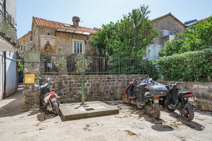 Family house with garden Old Town Budva