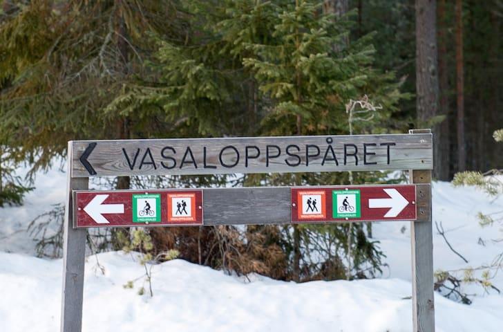 Sandsgården - private lodge along Vasaloppet