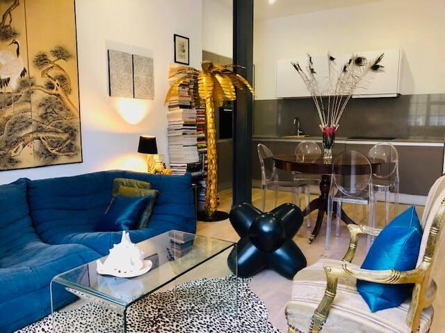 Gorgeous designer furniture and art pieces