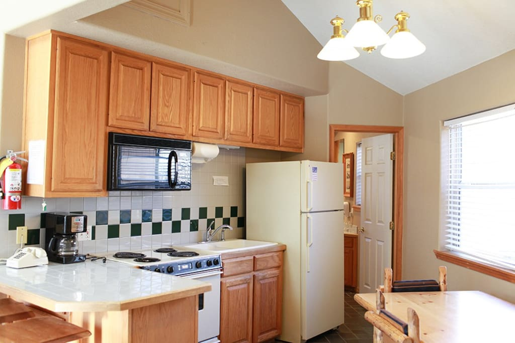 Spacious kitchen to enjoy cooking meals with your family and friends