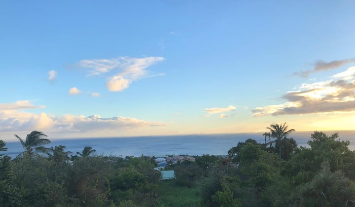 ⚡️Appartement à Basse-Terre avec vue mer(+piscine)