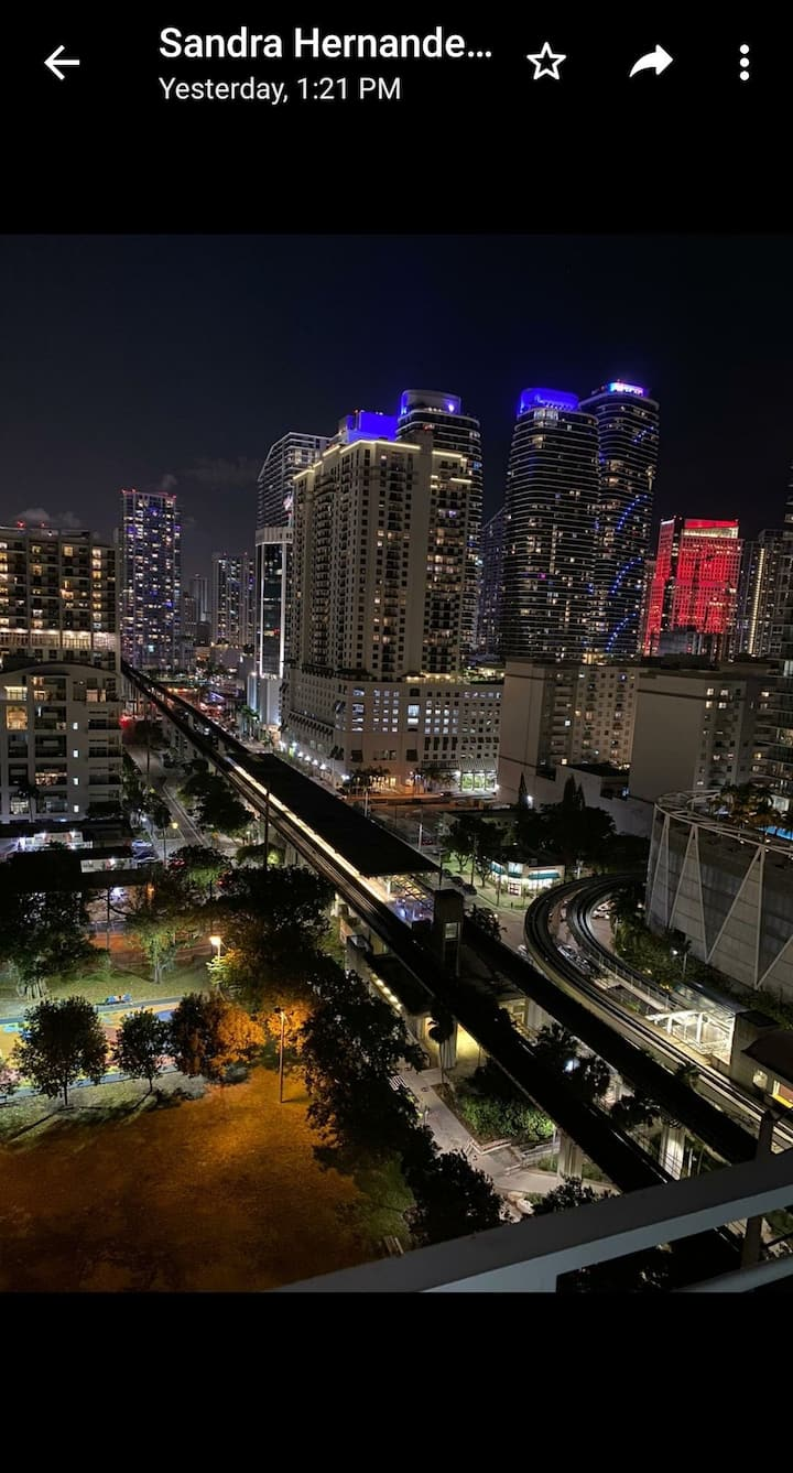 Brickell for fun and easy; vacaciones aki