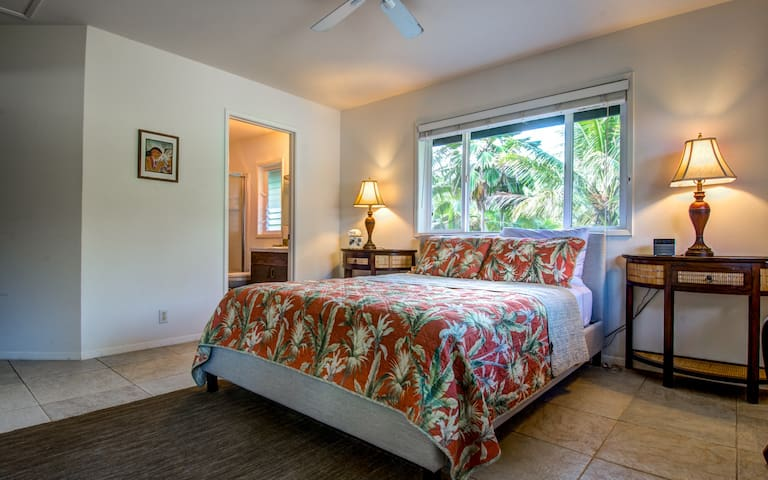Queen Bedroom, with private bath