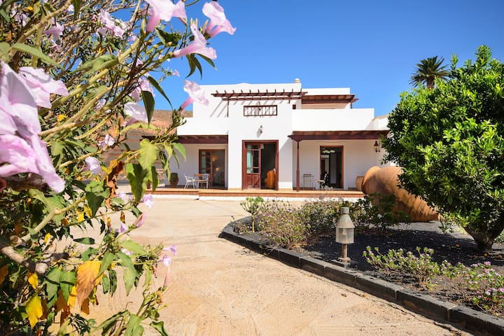 "Tranquil Country Estate ""Finca Remedios"" with Terrace, Garden & Wi-Fi; Pets Allowed, Parking Available"