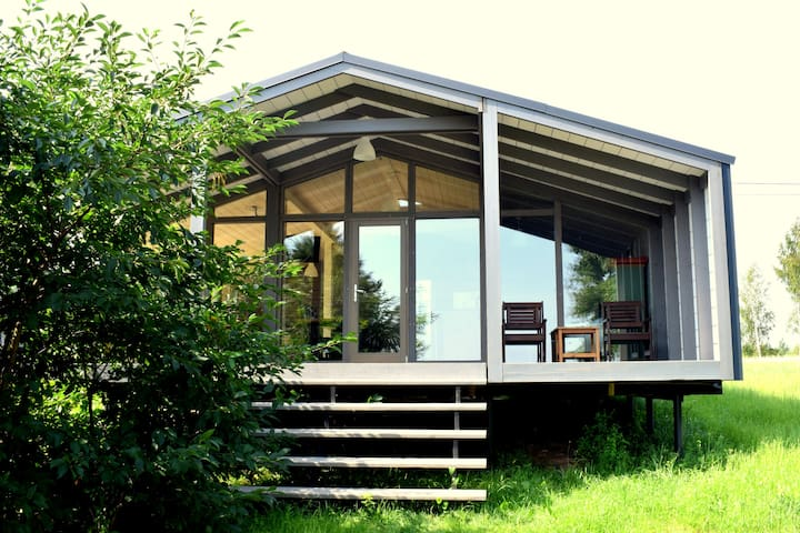 VIP camping house for four