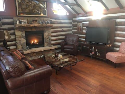 Log Cabin Luxury: Lake Living