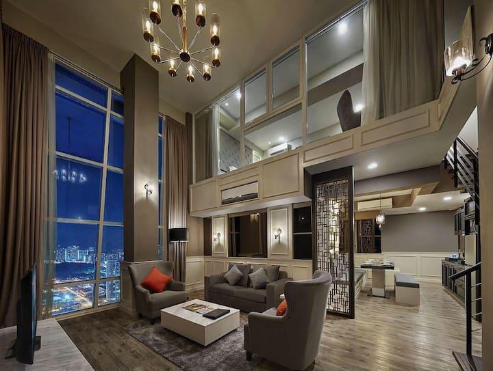 Penang Seaview Maritime Luxury Suite 槟城海景公寓