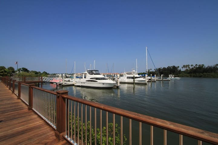 Riverfacing Townhome in The Villages at the New Smyrna Marina-19 Old Feger Drive