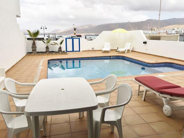 Apartamento Amanecer. Piscina privada - Punta Mujeres - Appartement