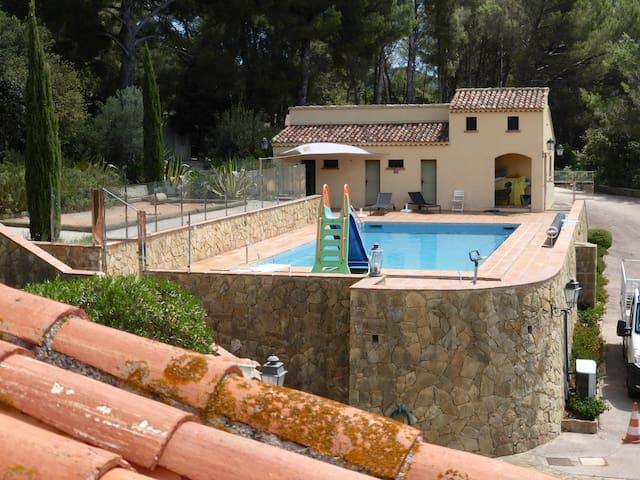 Suite/terrasse/B&B 2 personnes - La Cadière-d'Azur - Rumah Tamu