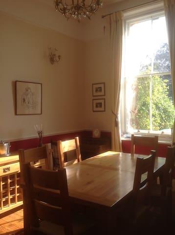 Dining room alternative for breakfast