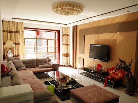 磴口CBD简约中式风格豪华整套住宅