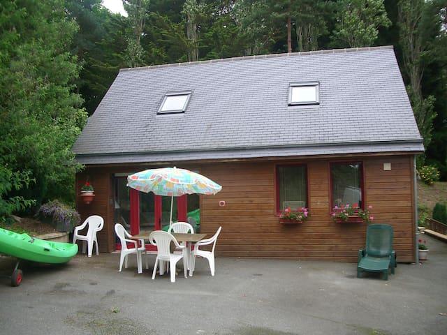 maison en bois - Pluduno - Dom