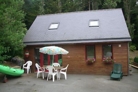 maison en bois - Pluduno