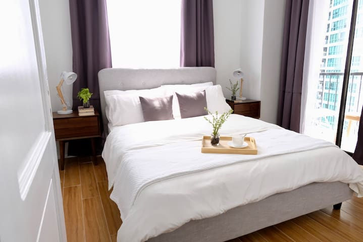 Have a restful sleep in our high quality bedding and soft pillows