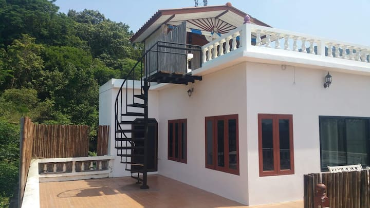 Koh Tao Private Rooftop Apartment Seaview&Mountain