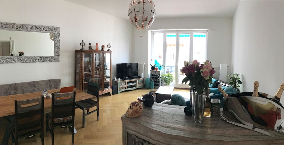 3BR Apartment close to Baselworld - Sleeps >5 - Bazel - Appartement