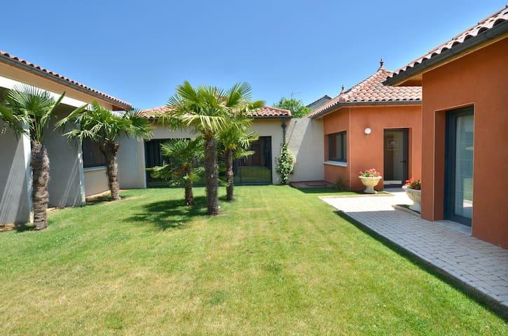 La Villa Toscane Marciac Studio 55m2  jardin clim
