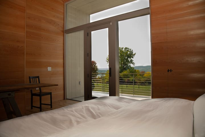 Master Bedroom looks over the lake