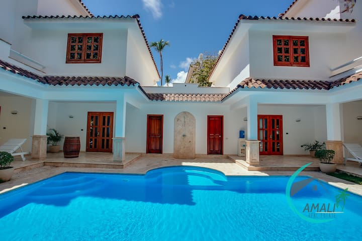 LUX VILLA GEMELAS,6BR,9BT,PRIVATE POOL,LOS CORALES