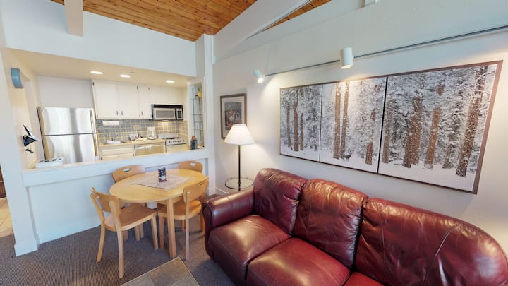 Cozy Condo! Next to Lifts & Steps to Vail Village