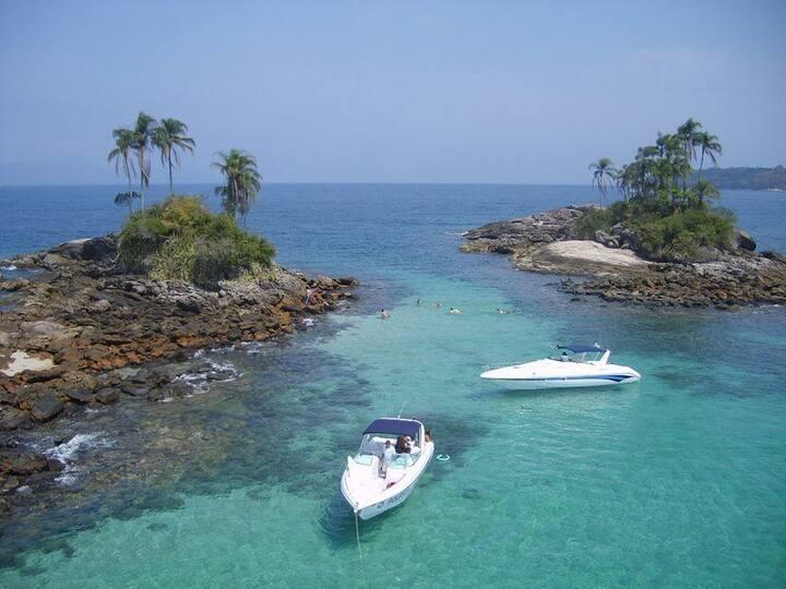 Um Local confortável perto das praias de Angra