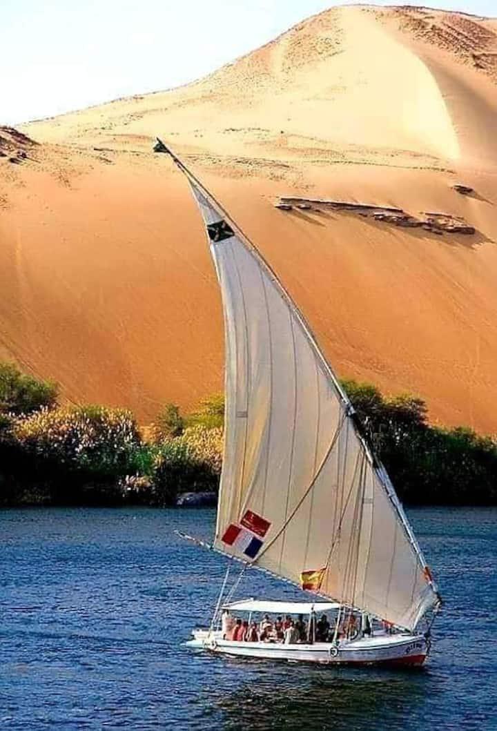 Felucca Cruise Down  Nile full  Board