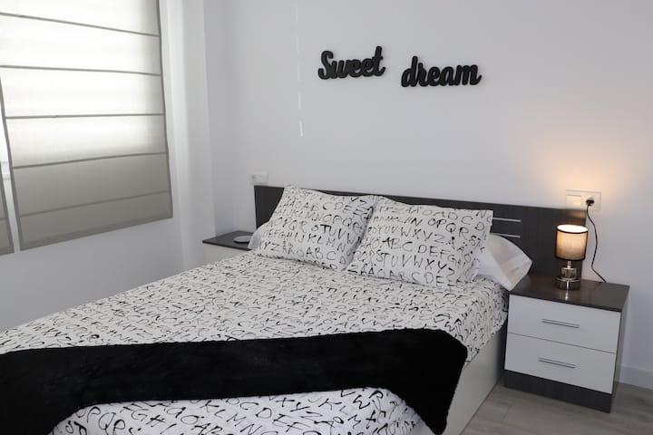 Acogedor apartamento para 2 personas, pk gratis