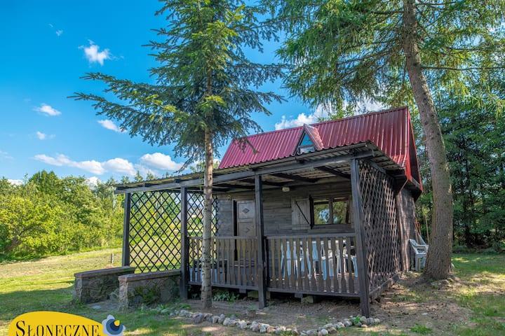 Słoneczne Kaszuby - domek blisko jezior i lasów