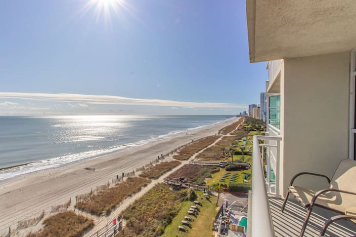 Carolinian 731 -direct oceanfront suite! Sleeps 6!