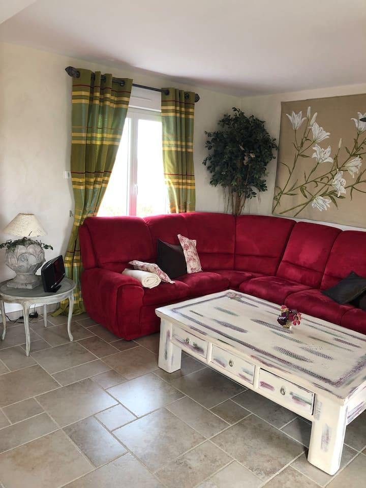 salon canapé convertible pour vos moments de détente en famille ou entre amis