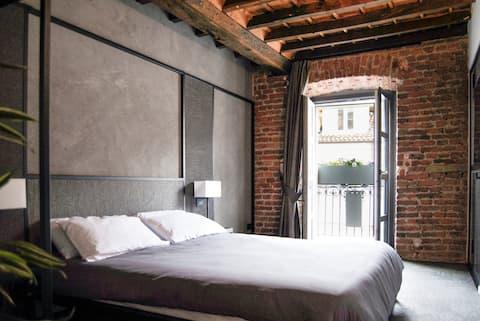 Lussuoso appartamento in centro storico,white loft
