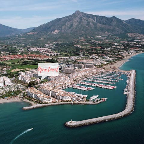 Golf, beach and fun in the middle of Puerto Banus